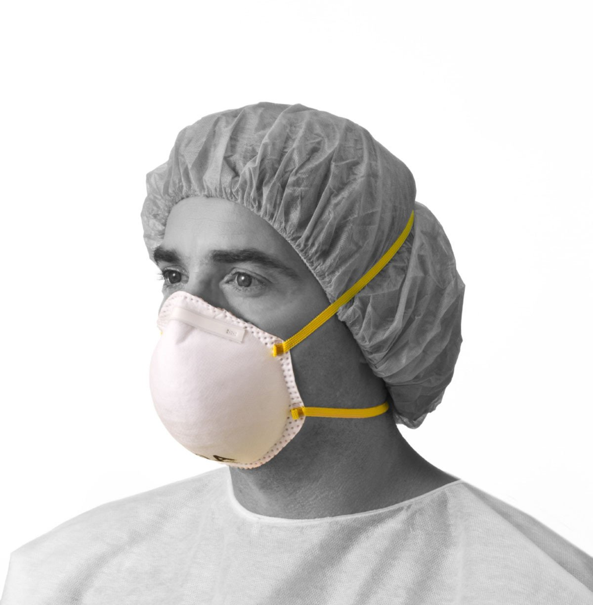 N95 Cone-Style Particulate Respirator (Case of 240) by