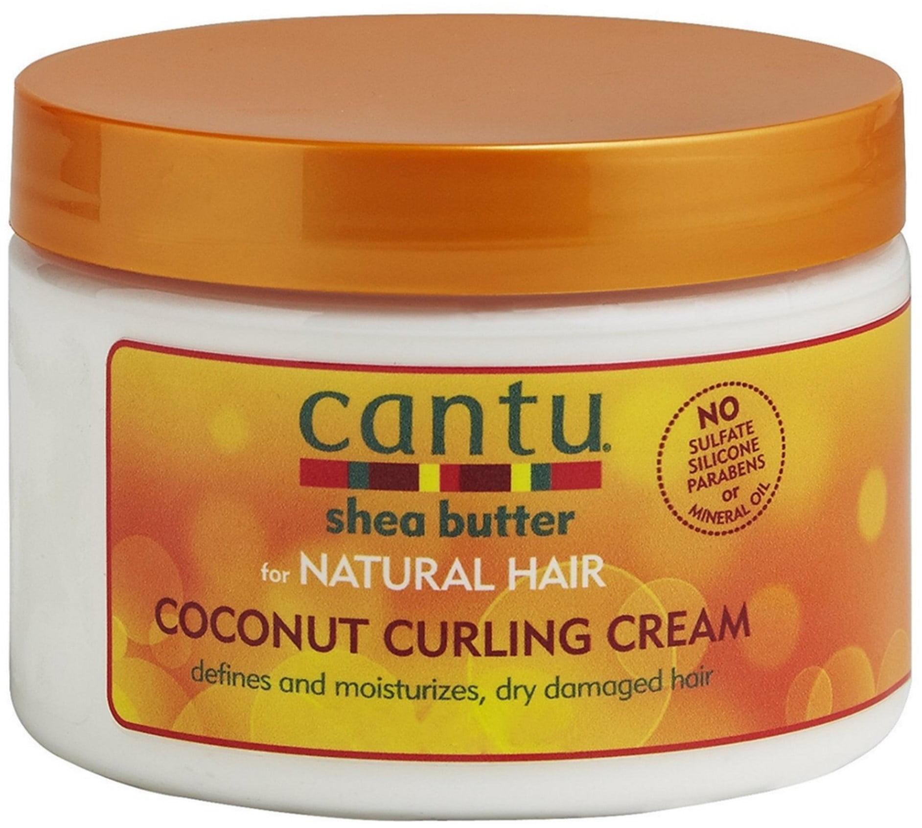 2 Pack Cantu Shea Butter For Natural Hair Coconut Curling Cream 12 Oz Walmart Com Walmart Com