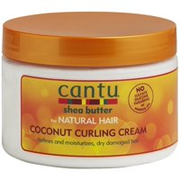 (2 pack) Cantu Shea Butter for Natural Hair Coconut Curling Cream 12 Oz