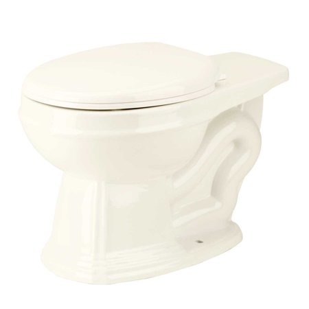 Round Toilet Rear Entry Bowl For High Tank Toilet