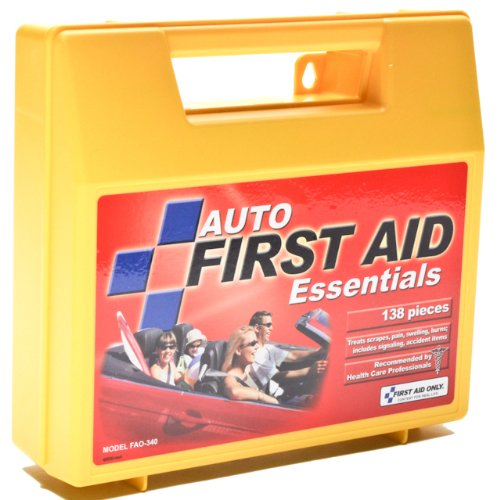 Acme United Essentials First Aid Kit for 5 People, 138 Pieces/Kit FAO-340