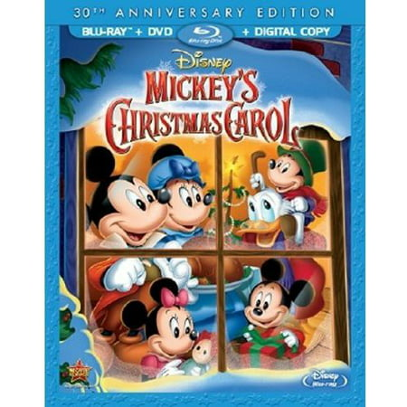 Mickey's Christmas Carol (30th Anniversary Edition) (Blu-ray + DVD + Digital Copy) (Digital Dudz Christmas)