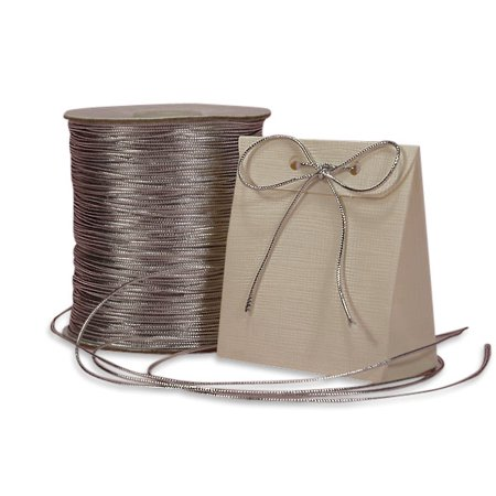 - 1 mm X 144yd Silver Metallic Cord  by Paper Mart