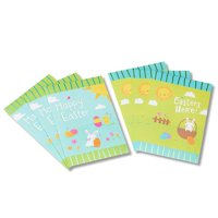 American Greetings Blue and Green Bunny Easter Cards, 6ct