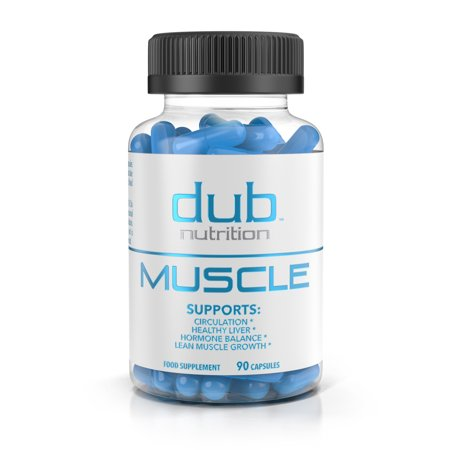 Muscle Recovery Workout Supplements by dub Nutrition | Testosterone Booster | Liver Cleanse Detox | Muscle Builder with BCAA, Milk Thistle, Saw Palmetto, Tribulus, and Beta