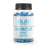 Muscle Recovery Workout Supplements by dub Nutrition | Testosterone Booster | Liver Cleanse Detox | Muscle Builder with BCAA, Milk Thistle, Saw Palmetto, Tribulus, and Beta Alanine