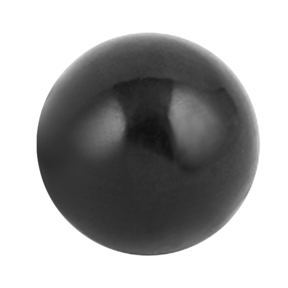 5Pcs M8 x 28mm Plastic Thread 30mm Diameter Spherical Ball Lever Knob Red