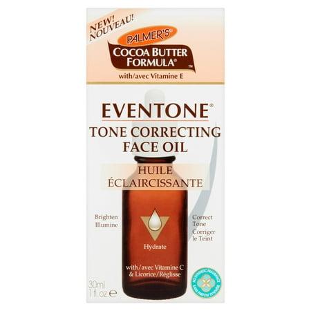 Palmer's Cocoa Butter Formula with Vitamin E Eventone Tone Correcting Face Oil, 1.0 FL