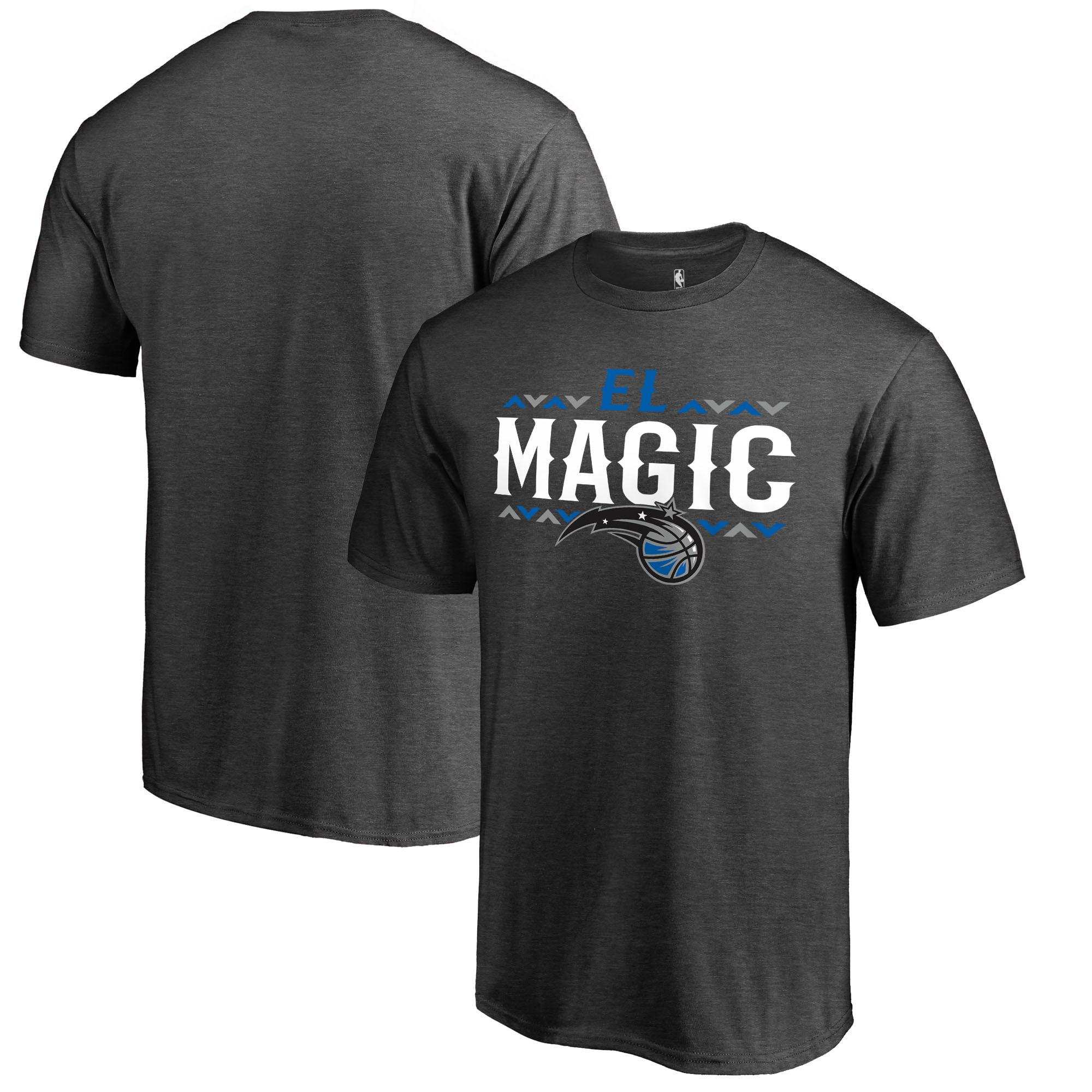 Orlando Magic Fanatics Branded Noches -ne-B--A Arriba T-Shirt - Ash