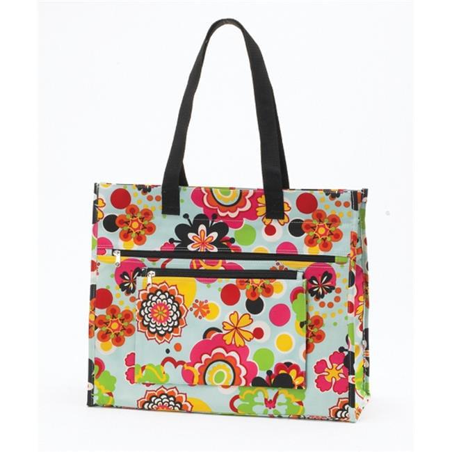 Joann Marrie Designs NPTFP Insulated Tote Bag Flower Power, Pack of 2 by Joann Marie Designs
