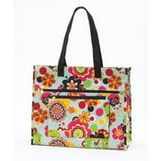 Joann Marrie Designs NPTFP Insulated Tote Bag - Flower Power, Pack of 2