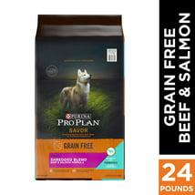 Dog Food: Purina Pro Plan Savor Grain-Free