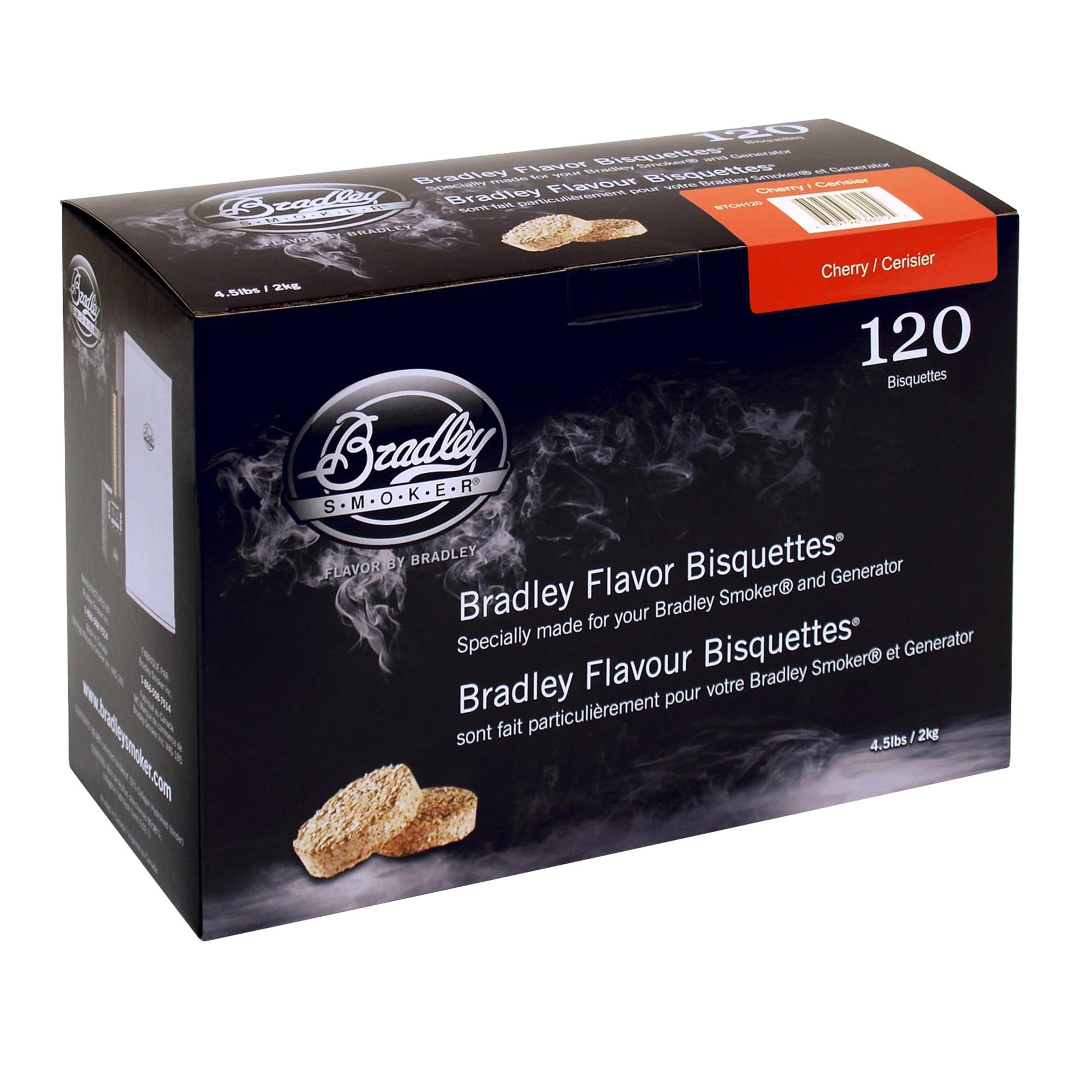 Bradley Smokers Smoker Bisquettes Cherry (120 Pack)