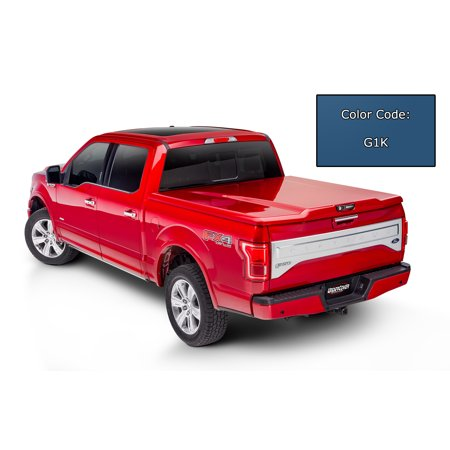 UnderCover UC1148L-G1K Tonneau Cover Elite LX Tilt-Up; Lockable; Deep Ocean Blue - Vehicle Color Code G1K (WA409Y); ABS Composite Material - image 1 de 1