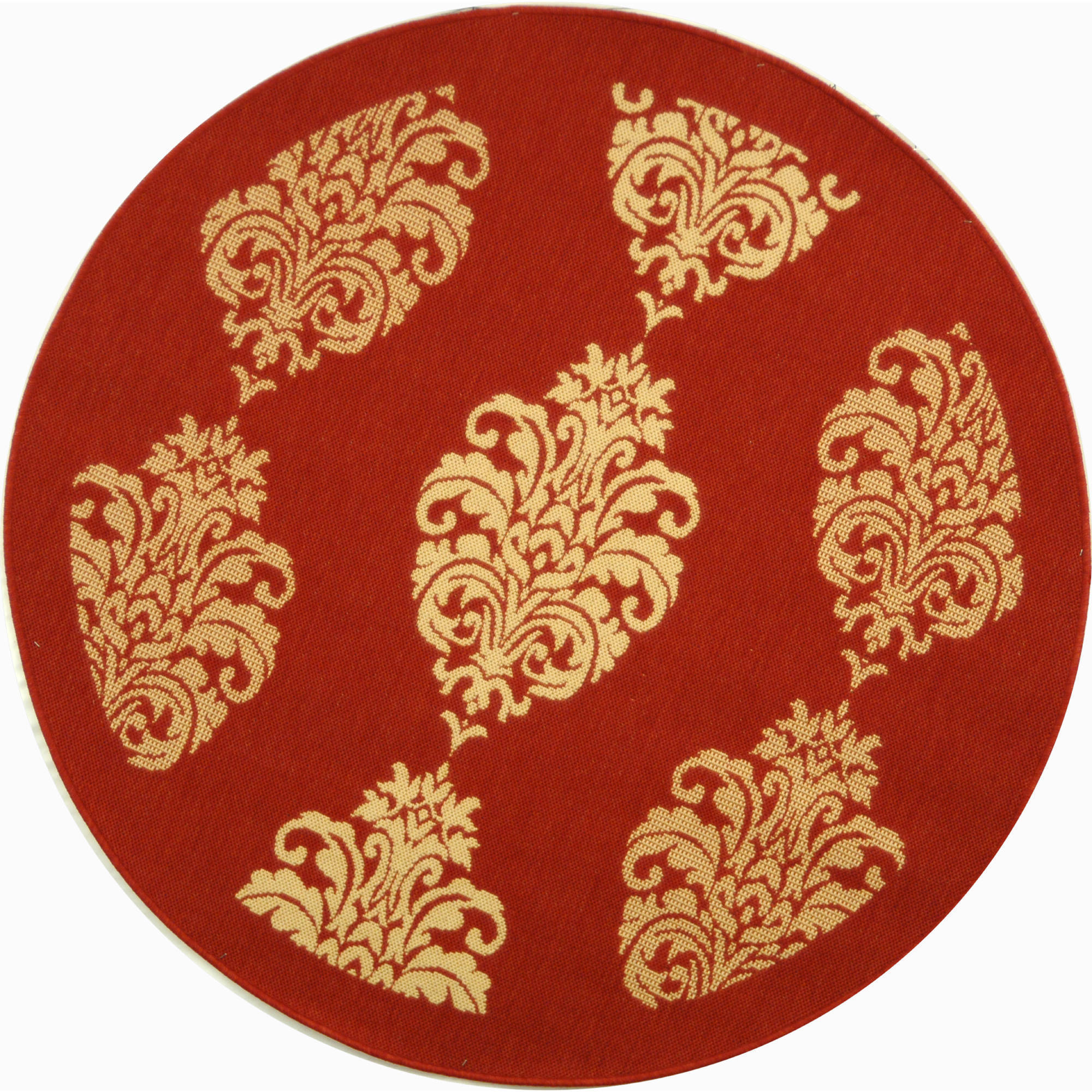 Safavieh Courtyard Barnet Indoor/Outdoor Rug, Round