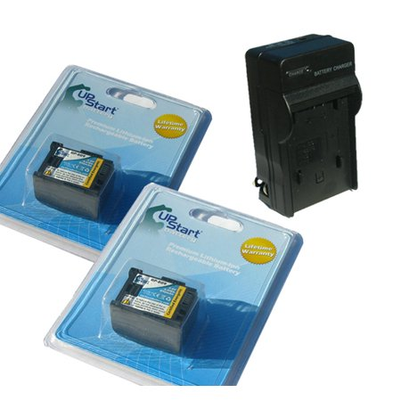 2x Pack - Canon VIXIA HF200 Battery + Charger - Replacement for Canon BP-809 Digital Camcorder Battery and Charger (Decoded, 890mAh, 7.4V, Lithium-Ion) - image 3 de 3