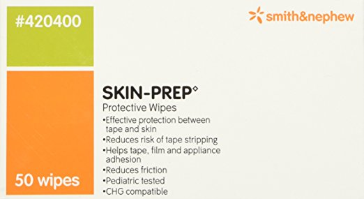 Pack Of 3 Boxes Box Of 50 Smith /& Nephew Skin Prep Protective Wipes