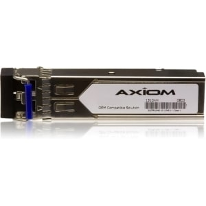 Axiom SFP (mini-GBIC) transceiver module (equivalent to: Cisco GLC-ZX-SM-RGD=) - 1000Base-ZX / SFP (mini-GBIC) - TAA Compliant