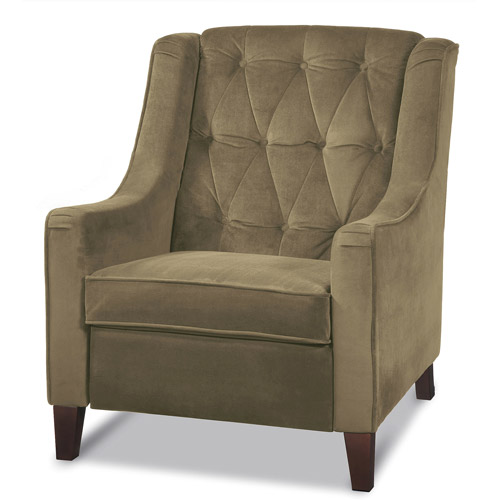 Avenue Six Curves Tufted Chair, Multiple Colors