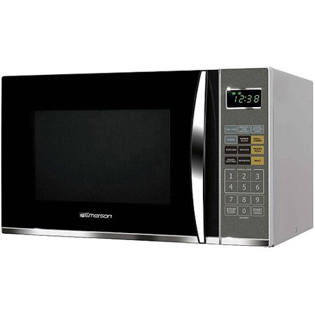emerson 1100w microwave oven with grilling feature 1 2 cu. Black Bedroom Furniture Sets. Home Design Ideas