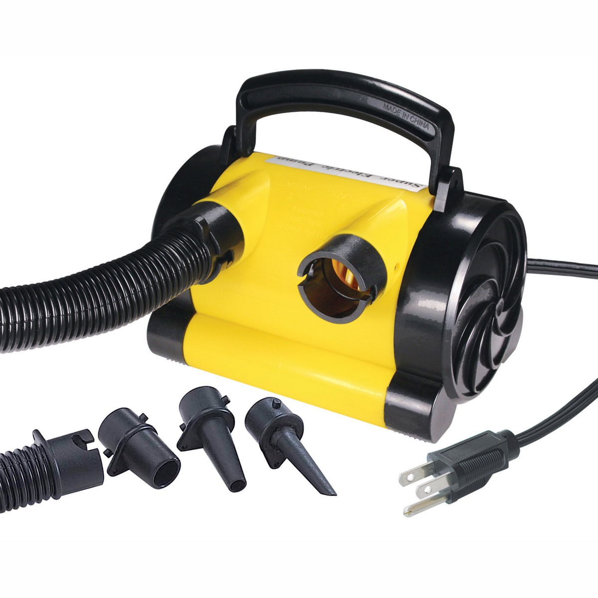 Airhead 120V Air Pump Yellow/Black