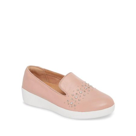 Audrey Leather - Fitflop Audrey Pearl Women's Leather Loafers M60-615