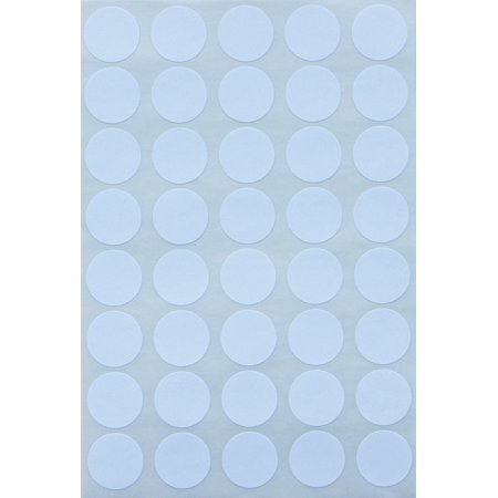White dot stickers round labels 19mm 1000 pack by royal green
