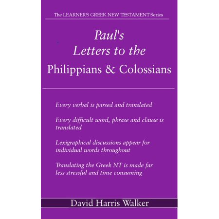 Paul's Letters to the Philippians & Colossians -