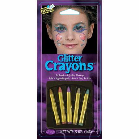 Ninja Makeup Halloween Kids (Glitter Makeup Crayons Halloween)