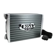 Boss Audio 1500 Watt Mono A/B MOSFET Power Car Amplifier + Remote | AR1500M