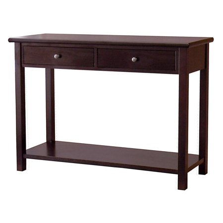 Donnieann austin 2 drawer console table for Wide side table