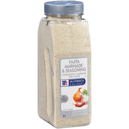 McCormick Culinary Fajita Marinade & Seasoning Mix, 30
