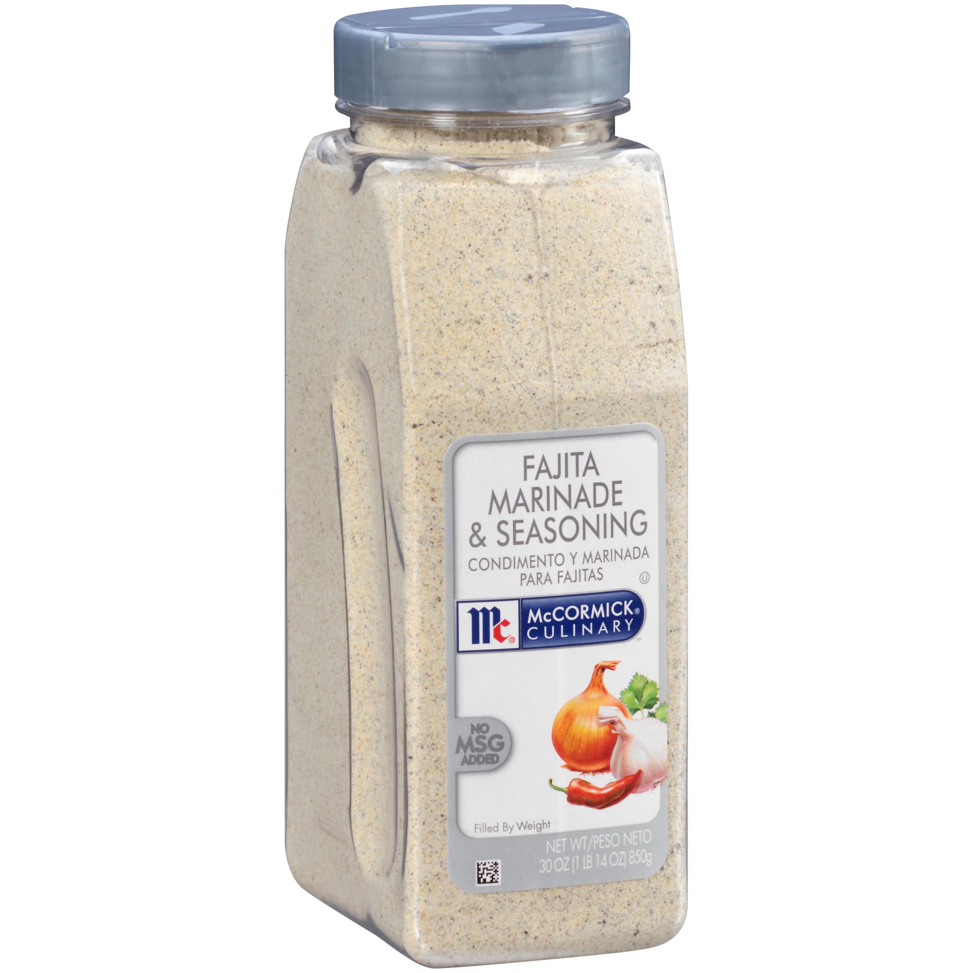 McCormick Culinary Fajita Marinade & Seasoning Mix, 30 oz