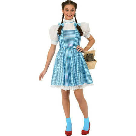 Dorothy Halloween Costume For Dogs (Women's Dorothy Wizard of Oz Costume - Size)