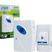 Trademark Poker 72-306B-2 Trademark HomeT Set of 2 Remote Control Wireless Doorbell