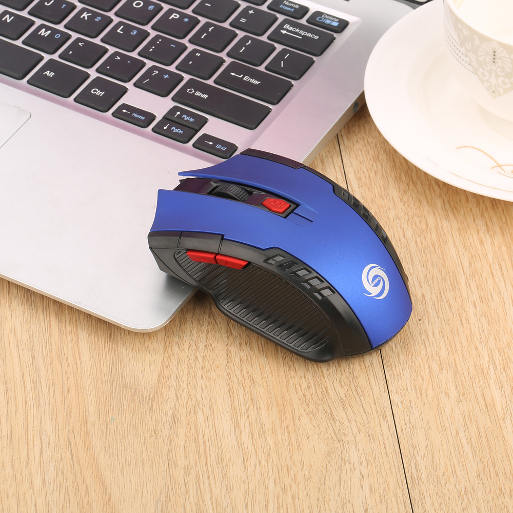 New Fashion Popular 2.4Ghz Mini Wireless Optical Gaming Mouse Mice& USB Receiver For PC Laptop