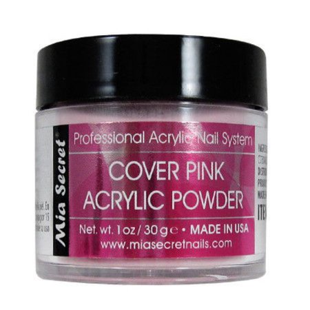 mia secret acrylic nail powder professional nail  pink