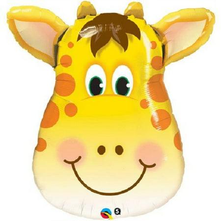 Giraffe Mylar Foil Balloon Kids Party Decoration XL 32