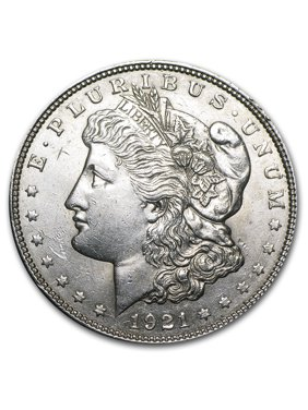 1921 P D or S Mint Morgan Silver Dollar AU
