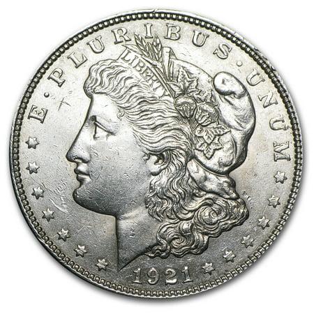 1921 P D or S Mint Morgan Silver Dollar AU (1878 Morgan Silver Dollar Coins)