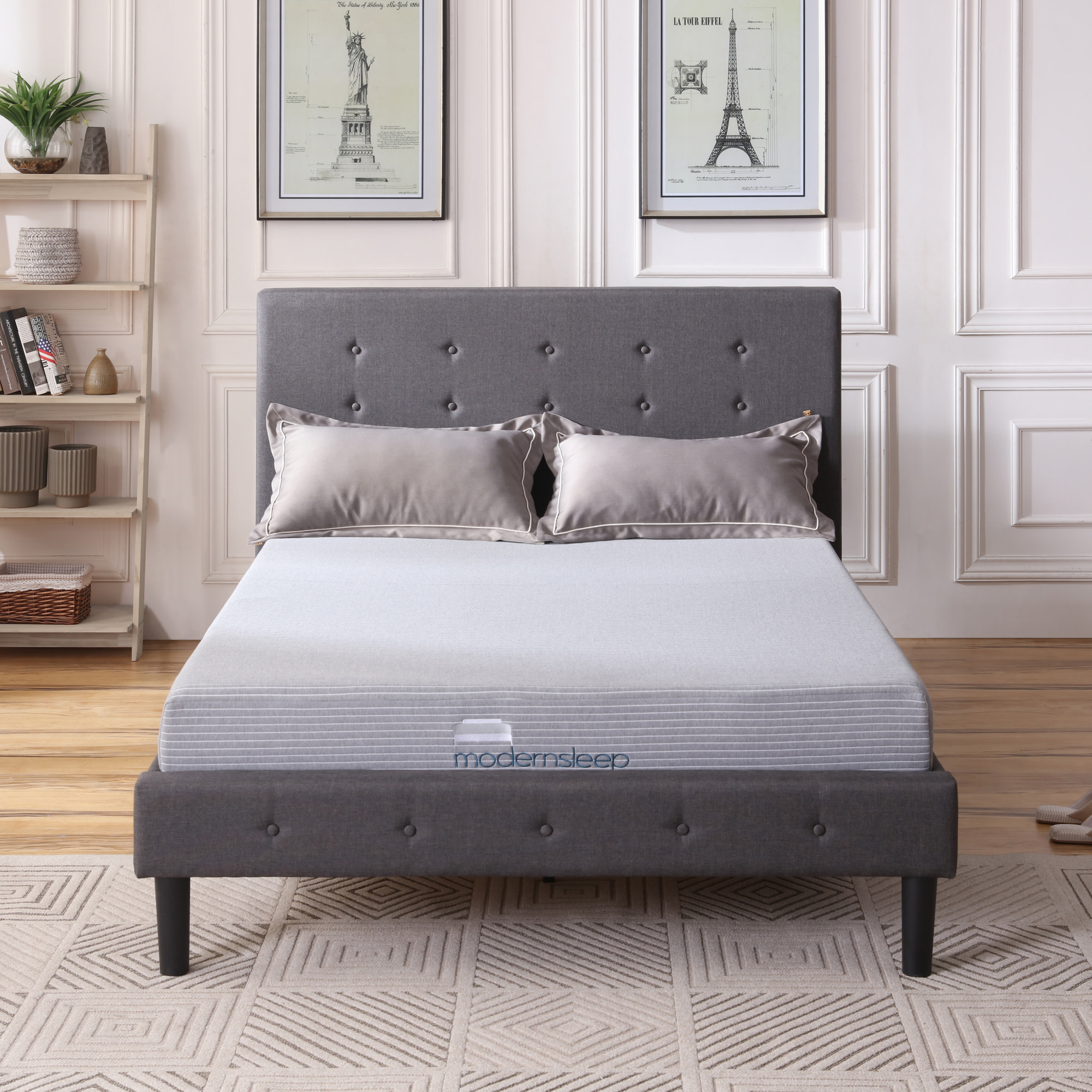 Modern Sleep Gel Memory Foam 8-Inch Mattress, Multiple Sizes