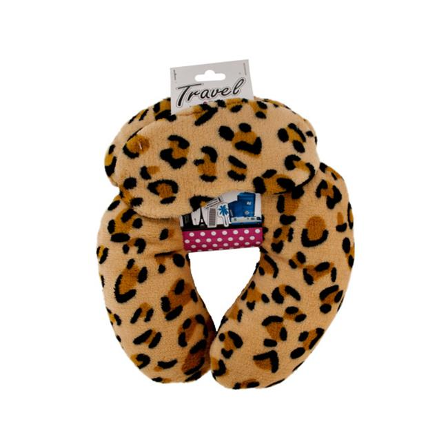 Bulk Buys OC623-1 Travel Neck Pillow With Eye Mask