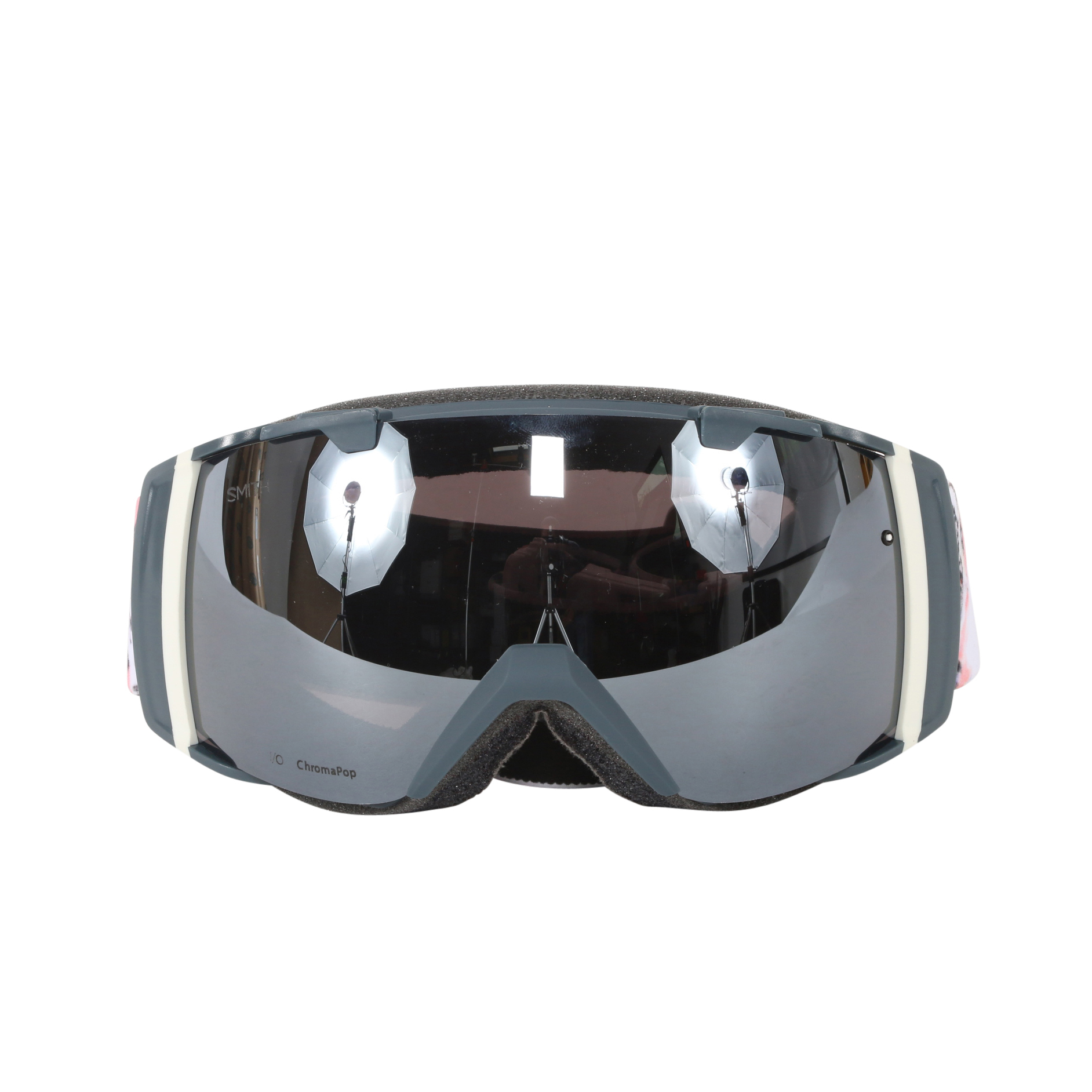 Smith Optics Thunder Composite ChromaPop Sun I O Interchangeable Snow Goggles by Smith Optics