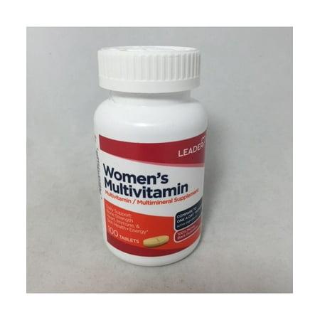 Leader Womens Multivitamin Caplets  100Ct
