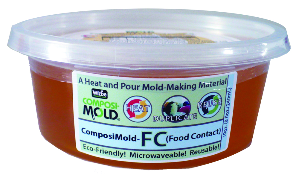 ComposiMold Mould Making Material - Reusable - 10 oz