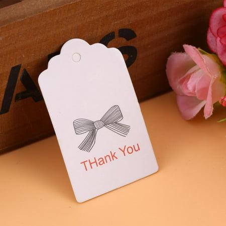 lv life 100pcs white handmade hang label wedding favor gift tags