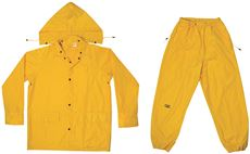 Custom Leathercraft R102X XL Yellow Rain Suit 3 Piece by Custom Leathercraft