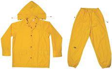Custom Leathercraft R102X XL Yellow Rain Suit 3 Piece by Custom Leathercraft