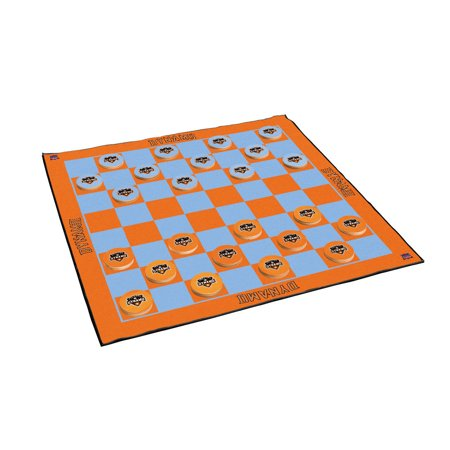 Houston Dynamo 2-in-1 Giant Checkers & All Weather Mat - No Size