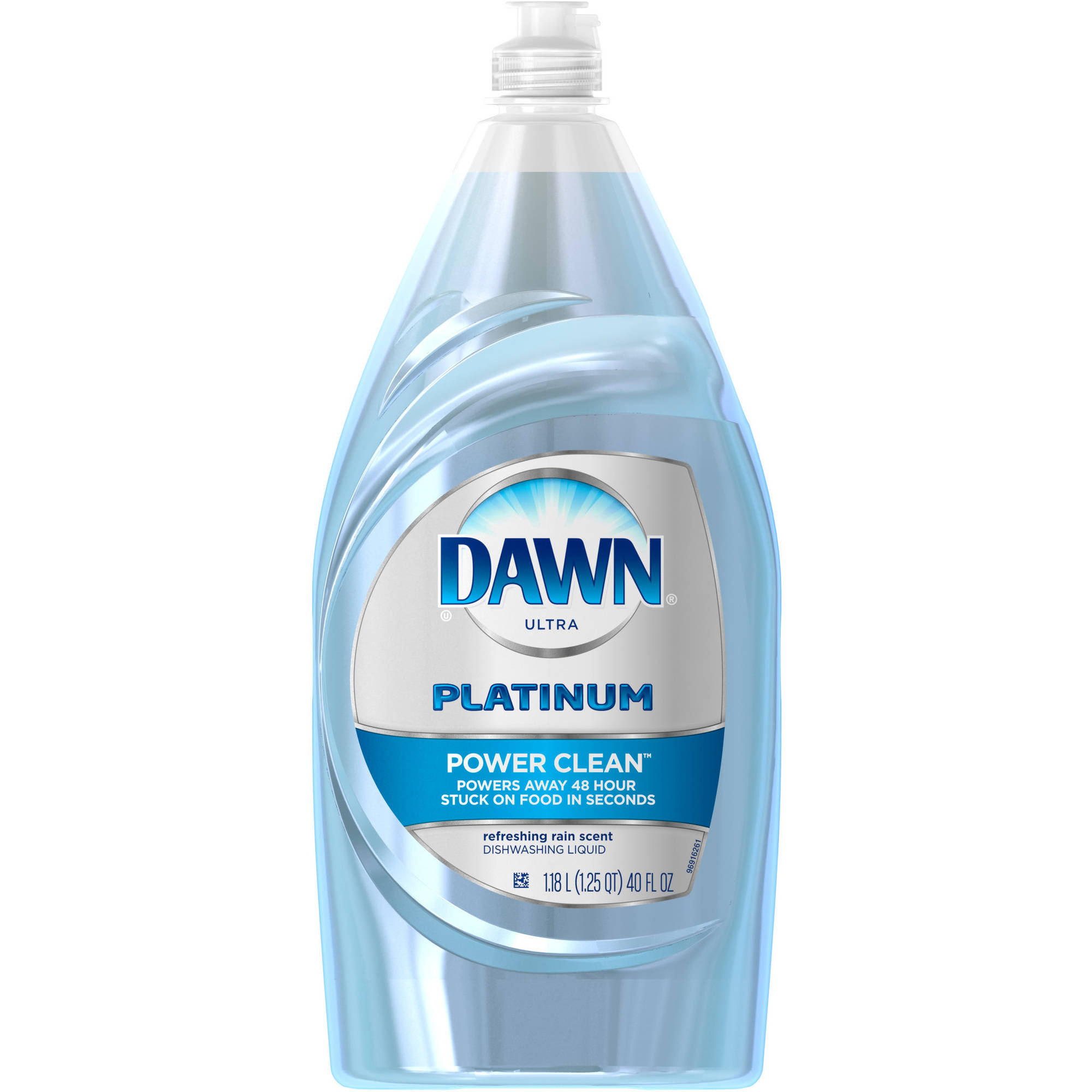Dawn Platinum Power Clean Dishwashing Liquid Refreshing